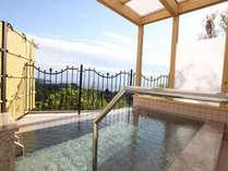 旭光の露天風呂
