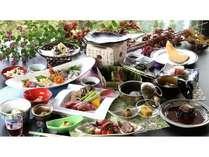 【アニバーサリー】源泉100%かけ流しの貸切風呂とフリードリンク&A4和牛付き15品の和食会席