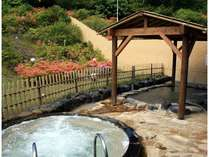 日帰り入浴施設(とどぽっくる)露天ジャクジーバス