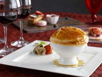 【バレンタインペアディナー付】~ソムリエが選んだ赤ワイン「サンタムール(愛の聖人)」で素敵な一夜を~