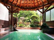 ◇露天風呂からは磐梯山が望めます。※女性用の露天風呂は只今改修工事中です。