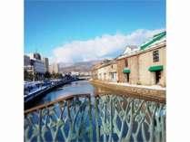 冬・小樽運河