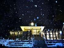 冬は豪雪です!