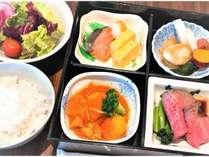 【重要】新型コロナ感染予防対策のため、朝食ビュッフェではなく「仙台彩り松花堂御膳」に変更となります。