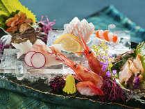 ■日本海の新鮮地魚■目の前の海で獲れた新鮮なお造りが自慢です!