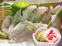 【旬の味覚会席-春-】山菜×桜鯛=春のお知らせ…♪~心の底から春☆実感~