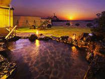 ■露天風呂■壮大な日本海を望む露天風呂