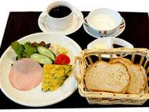 【朝食付】素朴な和食?自家製パンの洋食?選べる朝食