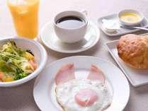 *【朝食一例/洋食】軽めのご朝食を希望されるお客様様におすすめ♪