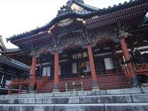 久遠寺~祖師堂~日蓮聖人の神霊を祀る堂閣です。