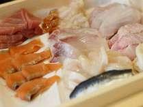 【夕食イメージ】近海の旬のネタを握りたてのお寿司でご提供