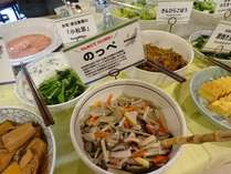 新潟郷土料理と言えばやっぱり「のっぺ」朝食メニューにもございます