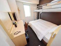 【スーパールームプラン】ロフトベッド付きでファミリーに大人気のお部屋☆2段ベッドのようなお部屋です♪