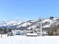 野沢温泉スキー場まで150歩!
