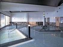 ひのきの湯が魅力な和風大浴場