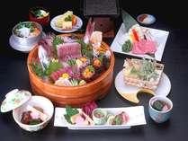 【春の味覚】春の万葉会席プラン~大和牛と旬魚の大杯盛り会席~