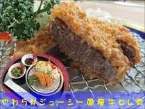 おすすめ1品料理「国産牛ヒレカツ」付き 春の万葉会席コース(・∀・)