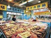 安くて新鮮な鮮魚が並ぶ魚ひろば