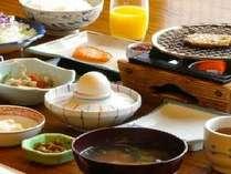 ある日の朝食の一例