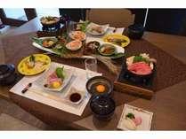 奥田食堂「小会席」コース 1泊2食付