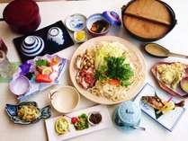 名物キジ鍋コース【1泊2食】会席料理プラン