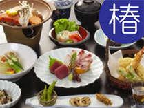 ■椿膳■地元の食材をふんだんに使った新鮮素材に、ちょうど良い味付け・ボリュームが最高♪