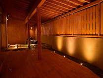 温泉は「湯畑源泉100%かけ流し」ゆったりとくつろげる外湯「弐之湯」