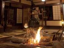 【囲炉裏】倭乃里のメインロビー