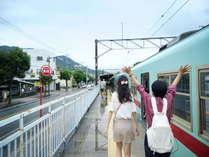 【太宰府】天神からは電車で約40分。