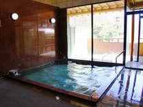 *大浴場(男性)/24時間入浴OK!天然温泉を好きなだけご堪能いただけます。