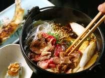 【夕食】本日の温物-信州の季節を感じられる料理