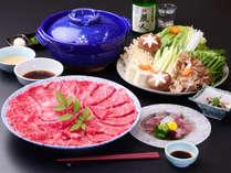 定番☆人気の近江牛しゃぶしゃぶ鍋