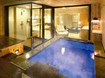 お好きな時間に…お好きなだけ…客室露天風呂をゆっくりお楽しみください~石造り風呂の一例~
