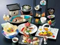 料理長厳選の旬の食材を使用した特別会席『プレミアムプラン』 (3月~5月)