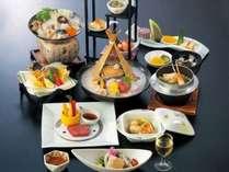 料理長厳選の旬の食材を使用した特別会席『プレミアムプラン』(12月~2月)
