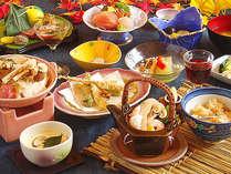 【松茸と信州牛★美味のコラボ】◆松茸料理4品◆&◆信州牛2品◆かわせみ流☆神無月☆御膳プラン