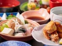 【冬の味覚をご堪能】◆ふぐ料理2品付き◆かわせみ流◆山海☆御膳◆プラン♪♪♪