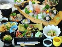 白エビ料理 4品コース。富山の人気食材♪