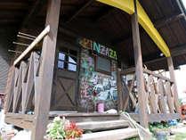 ゲストハウスキンザザは、大自然に囲まれたちょっと不思議な宿です。。