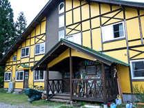 ゲストハウスキンザザは、大自然に囲まれたちょっと不思議な宿です。