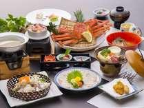 【季節限定】「ふぐカニ会席」~ふぐとカニを充実させた料理プラン