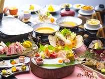 【特別】春・めおと会席プラン。焼物に「和牛石焼き200グラム(お二人で) 」を加え更にパワーアップ!