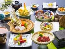 ◆2017・夏の旬会席(7/1~8/31)◆夏の味覚をご存分に堪能頂けるお料理をご用意いたします。