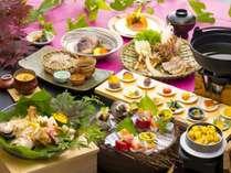 ◆秋・華やぎ会席◆『華やぎ会席』は当館で最高峰のお料理コースです。