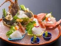 ☆料理長おまかせコース。豪華食材をふんだんにつかったゆのごう館最高のコースです。(写真は一例です)