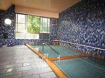 ◆日本一しょっぱいと言われる『強塩泉』の湯で肌もツルツル♪(大浴場一例)