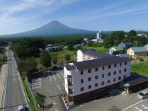 外観と富士山