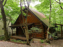 ログコテージ 茶臼の森
