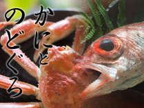 【のどぐろ&蟹】で島根グルメ満喫♪2食付贅沢プラン