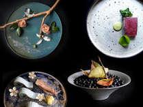 ―Special Plan― 目と舌で愉しむ。美しきHashimoto流創作料理の世界。